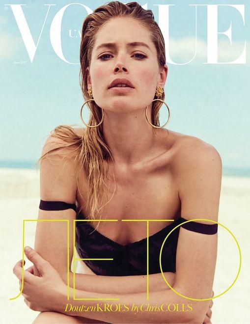 "Holenderski aniołek w ukraińskim ""Vogue'u"""