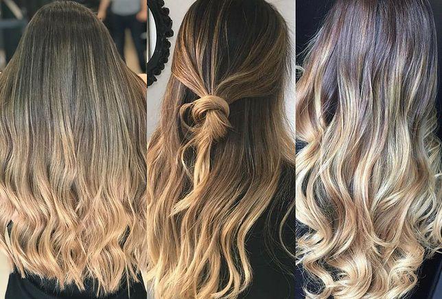 Ombre blond wciąż w modzie
