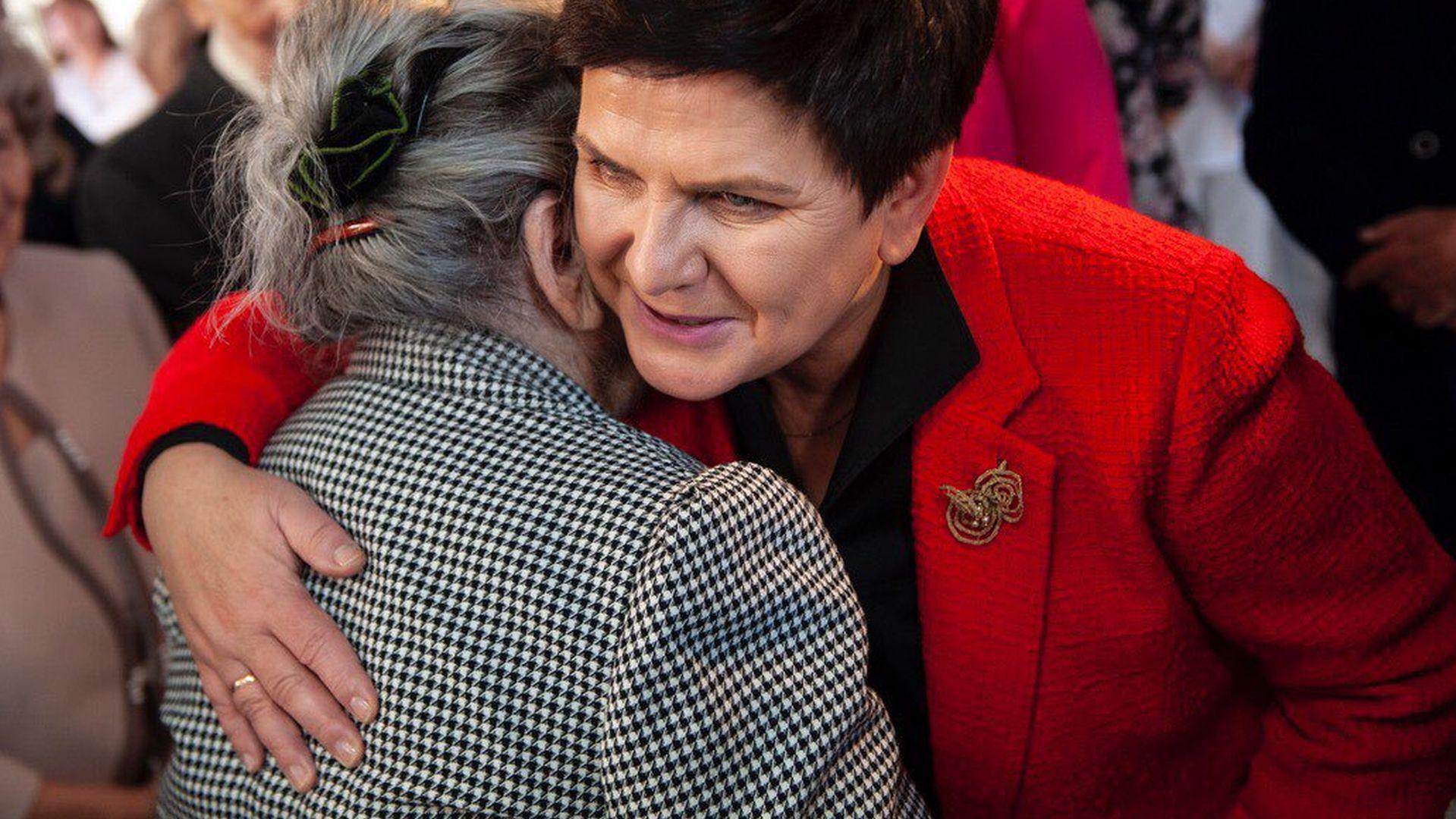Wybory do europarlamentu. Wicepremier Beata Szydło.