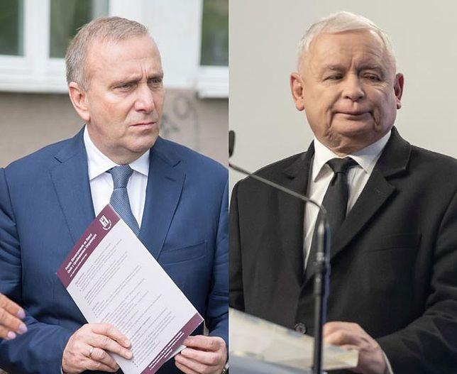 Liderzy PiS i Koalicji Europejskiej: Jarosław Kaczyński i Grzegorz Schetyna.