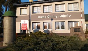 Urząd Gminy Sabnie, autor: Paweł Hardejewicz
