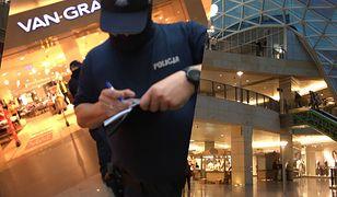 Policja rusza do akcji. Kontrole w sklepach i centrach handlowych. Posypią się mandaty
