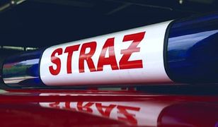 Ruda Śląska. Pożar budynku wielorodzinnego. 28 osób ewakuowanych