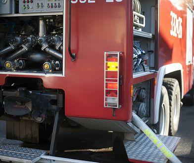 Śląsk. Tragiczny pożar w Rudzie Śląskiej. W płomieniach zginął mężczyzna
