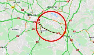 Katowice. Ogromne korki na autostradzie A4