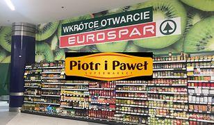Eurospar wkrótce zastąpi sklep Piotr i Paweł.