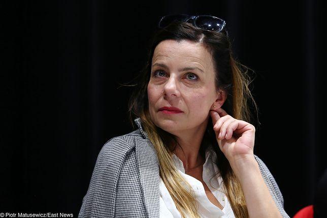 Agata Kulesza w trakcie rozwodu