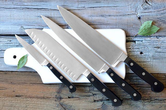 Dobry kucharz musi dbać o ostrość noży