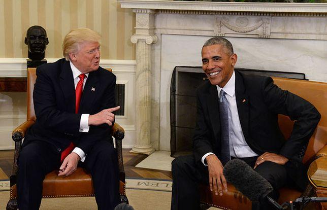 Donald Trump i Barack Obama