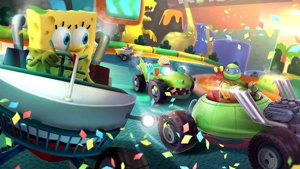 Nickelodeon Kart Racers - czy Michelangelo może jednocześnie jeść pizzę i prowadzić?