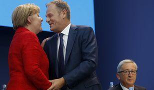 Angela Merkel, Donald Tusk, Jean-Claude Juncker