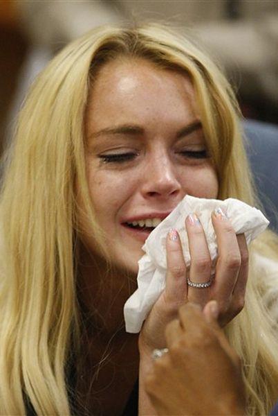 Lindsay Lohan - ku przestrodze