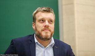 21.04.2017. Adrian Zandberg na spotkaniu ze studentami w Rzeszowie