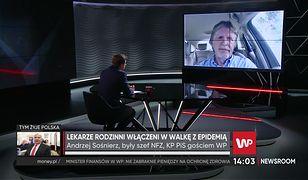 """Koronawirus w Polsce. Andrzej Sośnierz gani lekarzy rodzinnych. """"Dość biernie się zachowywali"""""""