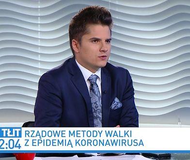 Kamil Bortniczuk o Andrzeju Sośnierzu: cieszymy się, że mamy takiego polityka w naszym gronie