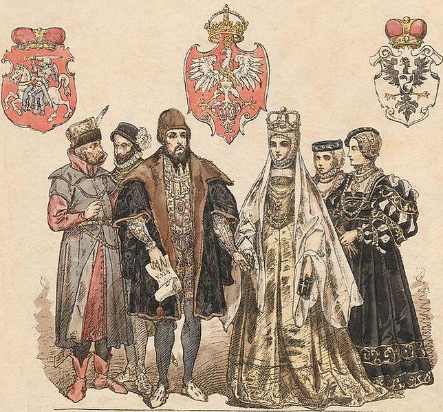 Zygmunt II August i Barbara Radziwiłłówna