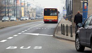 Motocykliści od pierwszego maja mogą poruszać się buspasem