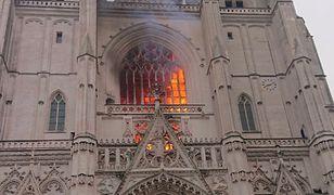 Francja. Pożar w katedrze św. Piotra i Pawła w Nantes