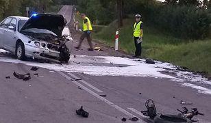 Wronki Wielkie. Kolejny śmiertelny wypadek na Mazurach z udziałem motocyklisty
