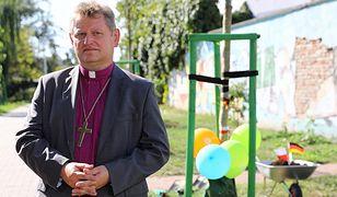Bp Jerzy Samiec, zwierzchnik Kościoła ewangelicko-augsburskiego w Polsce.