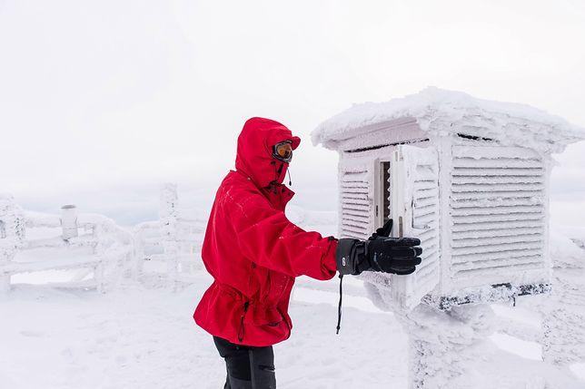 Obserwatorium Meteorologiczne IMGW na Śnieżce (najwyższym szczycie Karkonoszy)