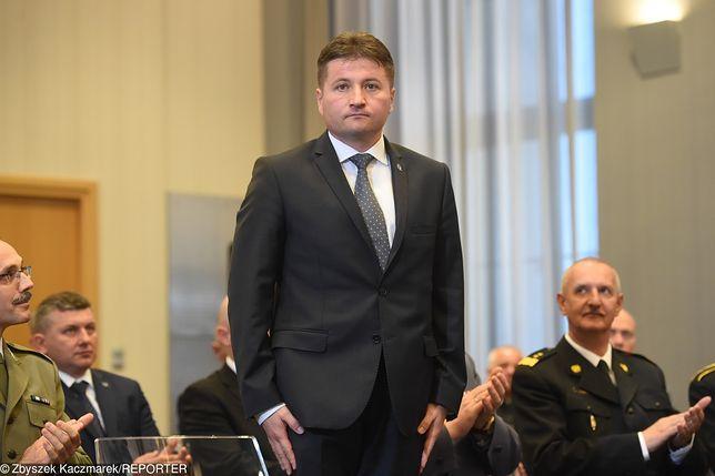Pułkownik Paweł Tymiński pełnił funkcję wiceszefa SOP od lutego 2018r.