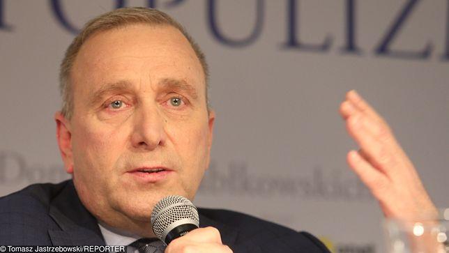 Lider PO Grzegorz Schetyna