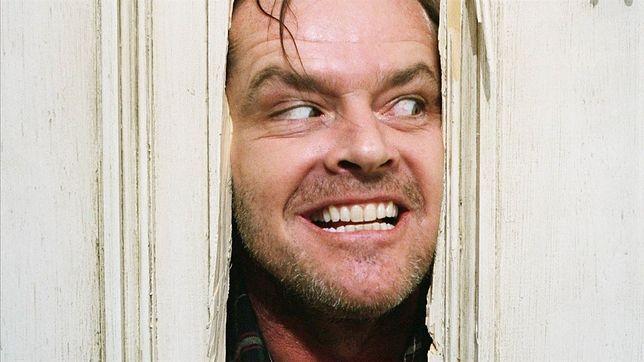 """Jack Nicholson w """"Lśnieniu"""" dał niezapomniany popis aktorstwa"""