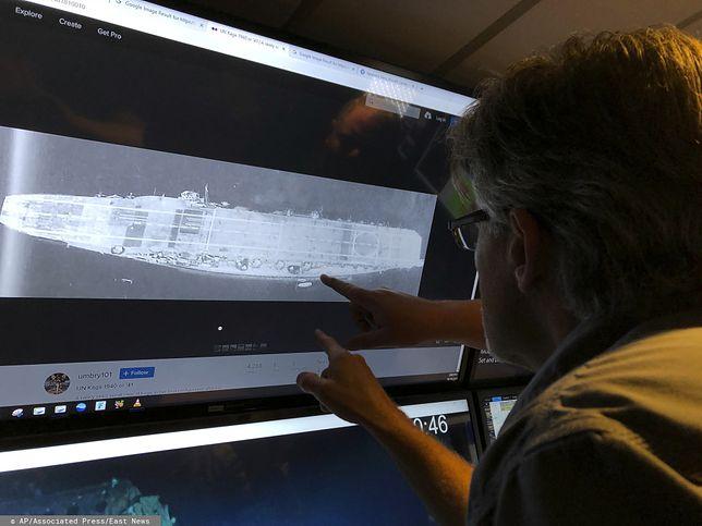 Akagi zatonął w Bitwie o Midway 5 czerwca 1942 roku