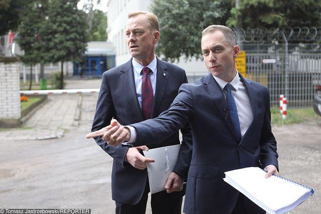 Antoni Macierewicz przesłuchał Pawła Suskiego i Cezarego Tomczyka