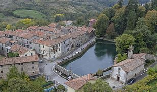 Santa Fiora, średniowieczna wioska we Włoszech