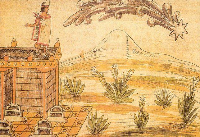 Montezuma II spoglądający na kometę