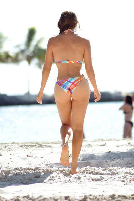 Andrea Calle seksowna dziennikarka zajmująca się sportami walki