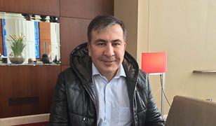 Michaił Saakaszwili, były prezydent Gruzji