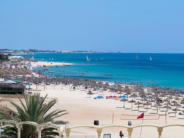 Plaże w Tunezji są piaszczyste