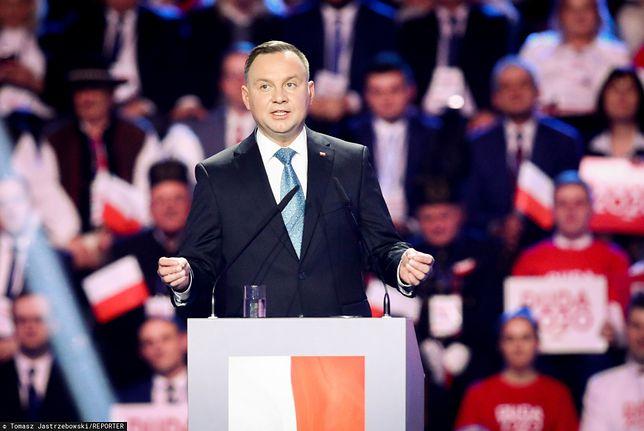 Wybory prezydenckie 2020. Andrzej Duda prezentuje sztab wyborczy