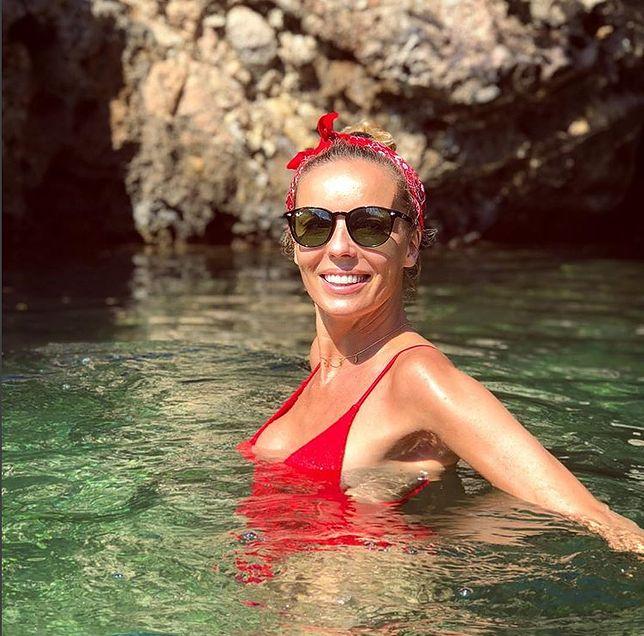 Piękna Agnieszka Włodarczyk w bikini. Co za ciało!