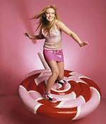 Hilary Duff robi wdech i wydech