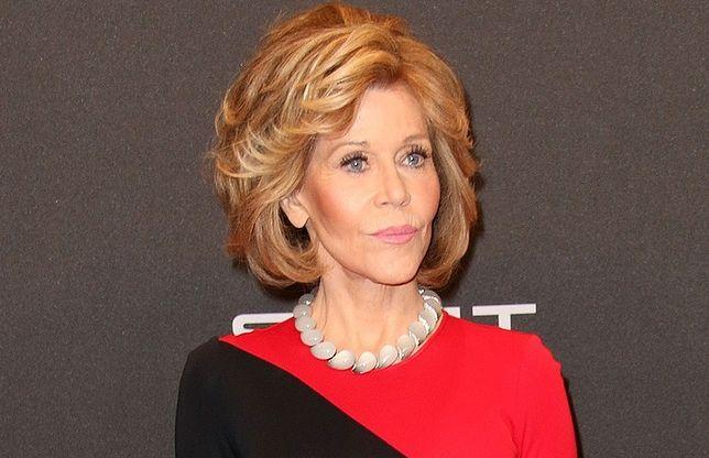 Jane Fonda walczy z rakiem wargi
