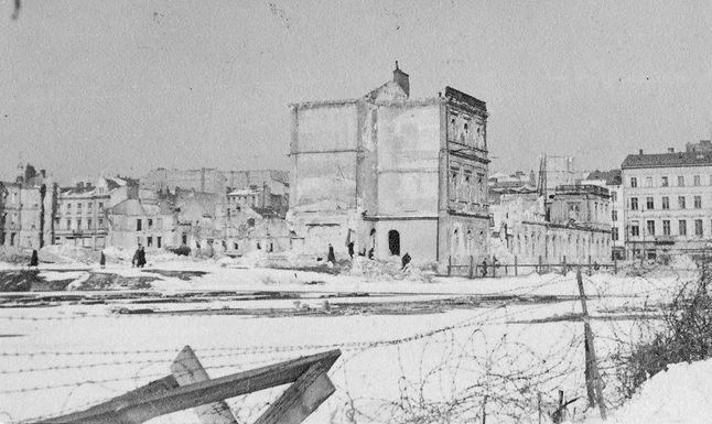 Ruiny Dworca Wiedeńskiego w Warszawie