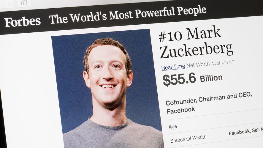 Mark Zuckerberg z depositphotos