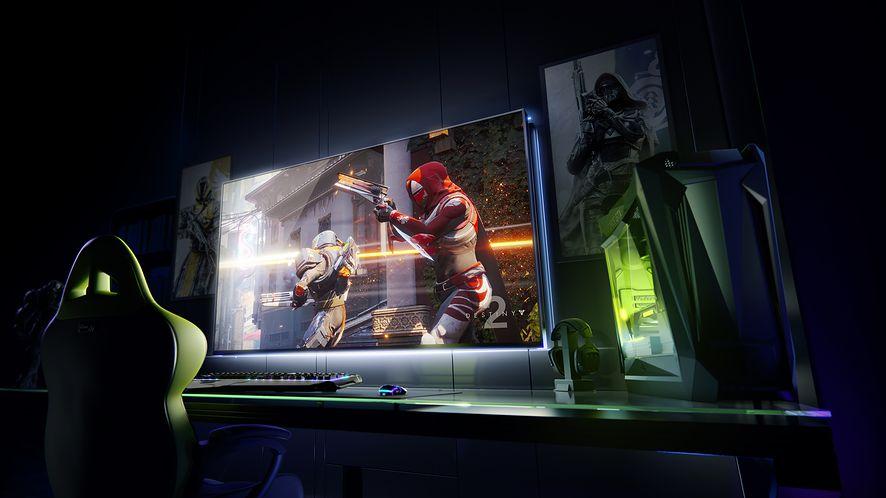 NVIDIA prezentuje na CES gigantyczne monitory z wbudowaną konsolą