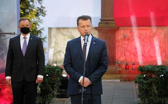 Obchody 81. rocznicy wybuchu II wojny światowej. Mariusz Błaszczak wystąpił na Westerplatte