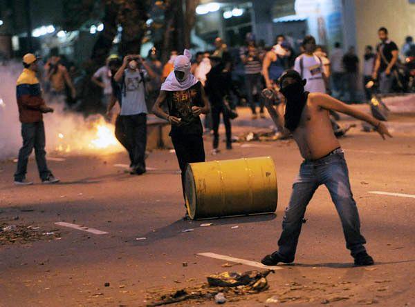 Zwolennicy Radonskiego na ulicach Caracas