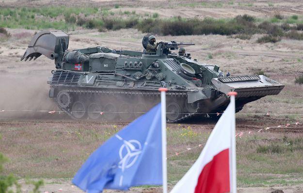 Ppłk Pietrzak: ćwiczenia żołnierzy NATO miały charakter obronny
