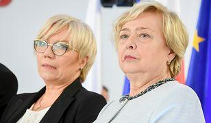 Prezes TK Julia Przyłębska i prezes SN Małgorzata Gersdorf starły się także podczas dzisiejszej rozprawy.