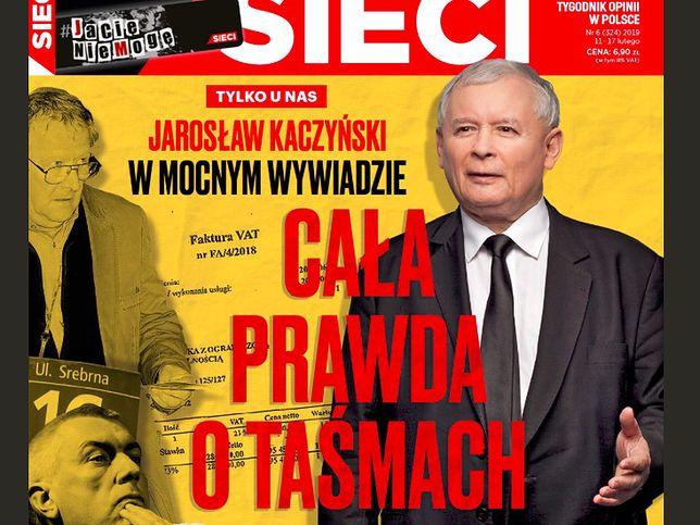 """Kaczyński ws. spółki Srebrna. """"Bezczelna manipulacja"""""""