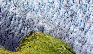 Największy lodowiec w Europie.