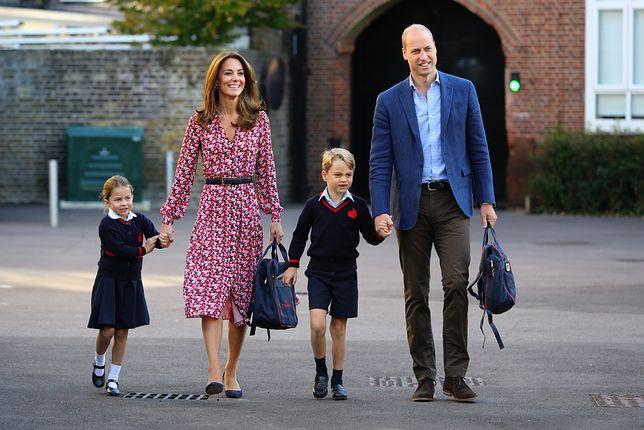 Kate Middleton i książę William z dziećmi