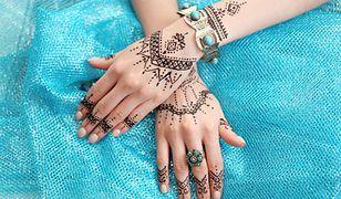 Wzory na tatuaże z henny